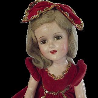 Sonja Henie Doll With Extra Ski Outfit
