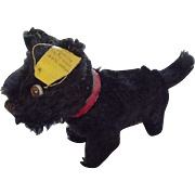 Steiff Scotty Dog With  All Ids Collar and Bell