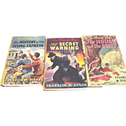 Three Hardy Boys Books