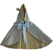 Blue Cape For Small Doll