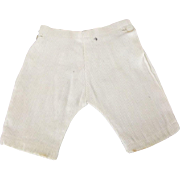 Two Vintage Pair of Pants For A Boy Doll