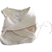 Wrap Around Tee and Diaper In one For Small Doll