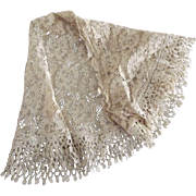 Lace Remnant Off A Early Dress