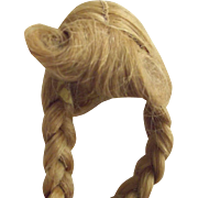 Human Hair Long Pig Tail Wig