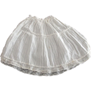 Petticoat For Doll