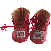 Little Red Doll Shoes