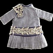 Small Taffeta Doll Dress