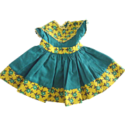 Doll Dress 1950's