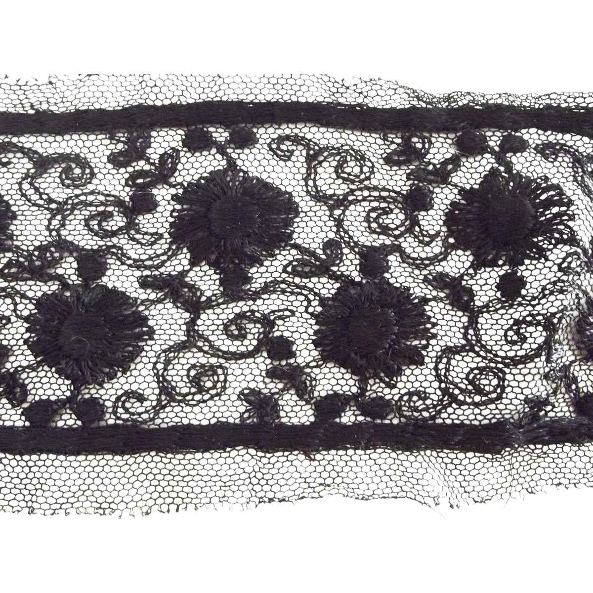 Victorian/Edwardian Black Lace