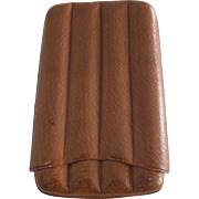 Cigar Case For Four Cigars