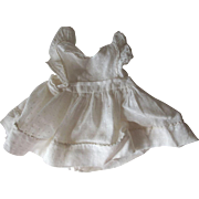 Ruffled Pinafore For Doll