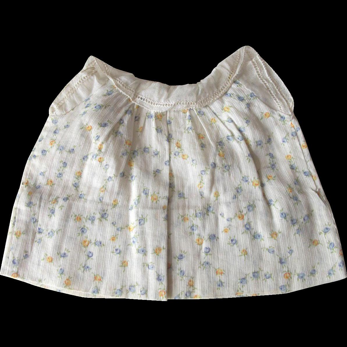 Doll Dress 1940's