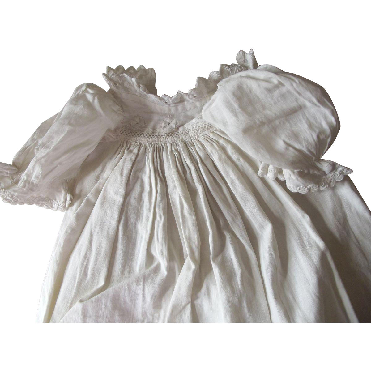 Early Cotton Baby Doll Gown