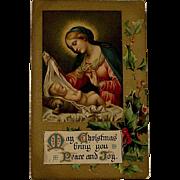 Victorian/Edwardian Religious Postcard