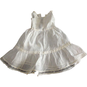 Whole Slip For Doll With Ruffle and Lace