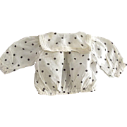 Polka Dot Doll Blouse