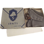 Men's Grey Spats In Original Box