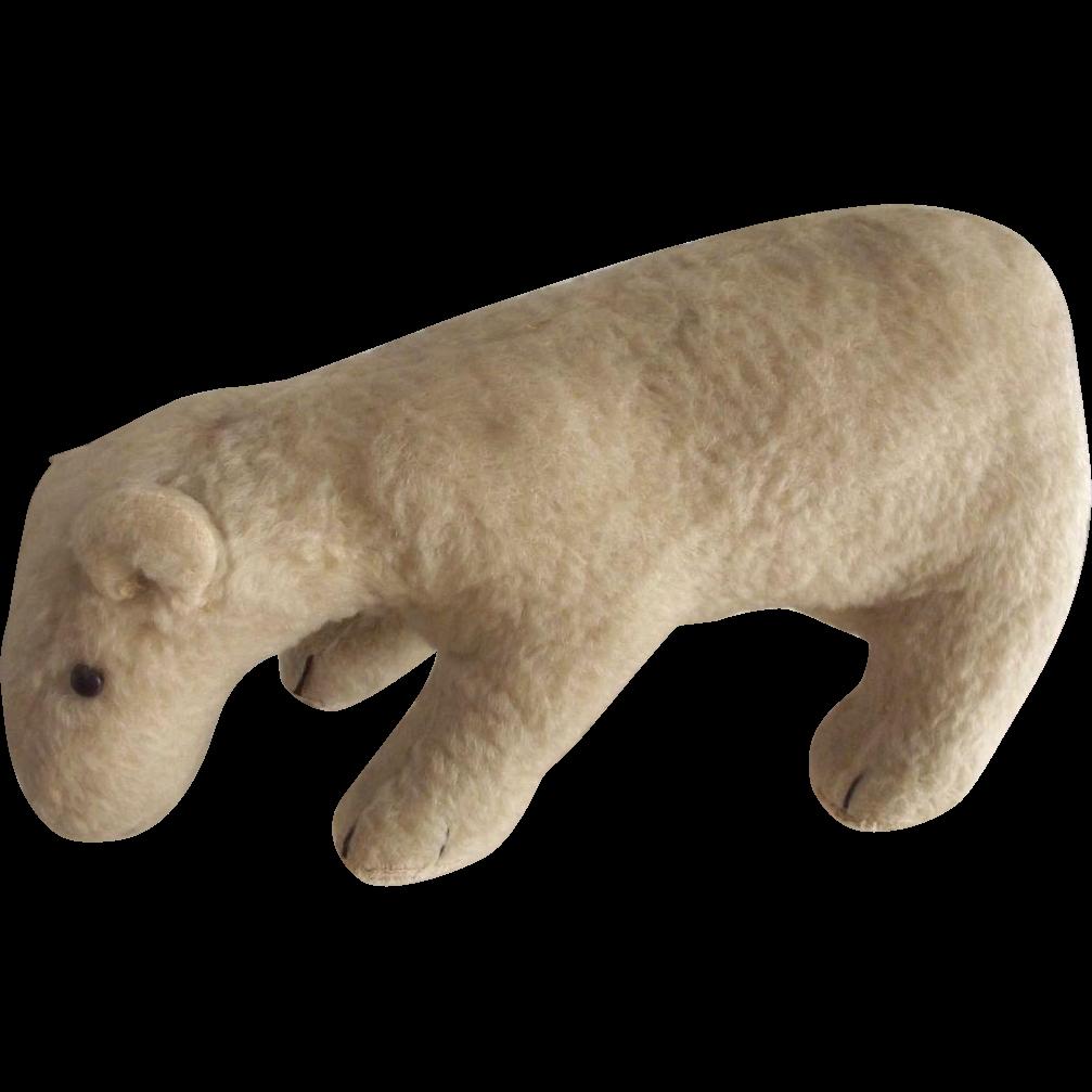 Early Polar Bear On All Fours