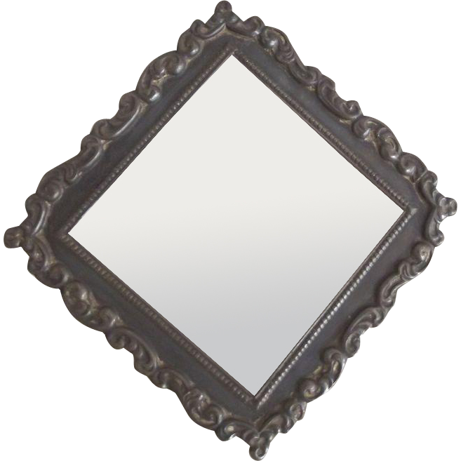 Art Nouveau Frame With Triangle Shape