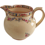 Minton Pitcher With Flower Swag