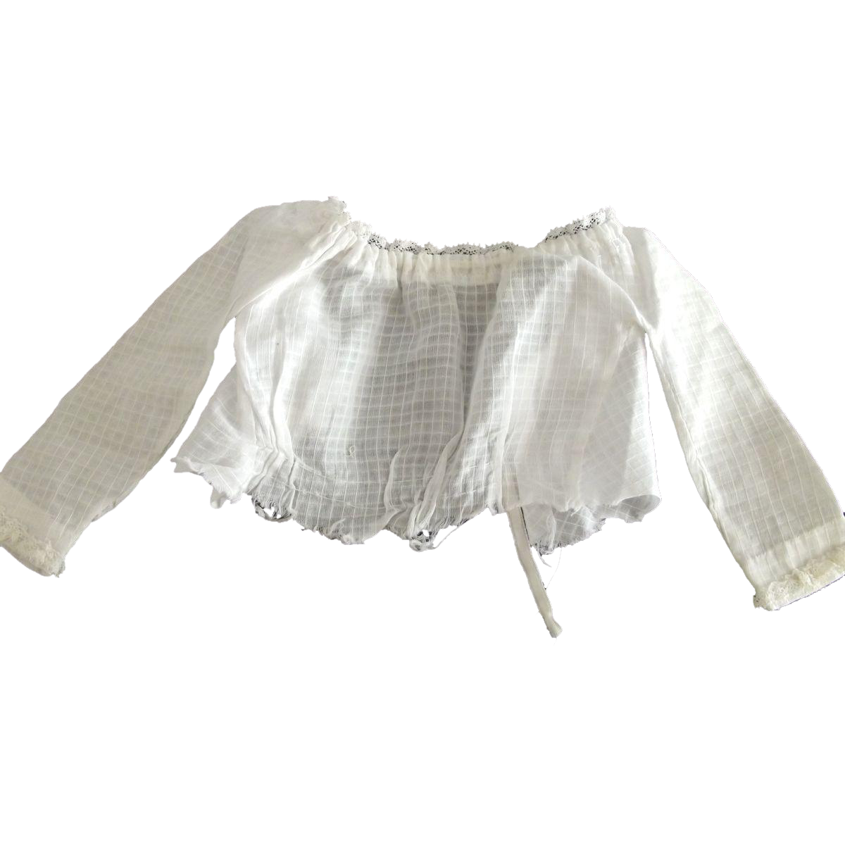 Hand Sewn Doll Blouse