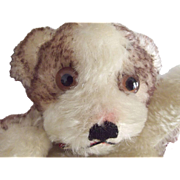 Steiff Molly  Dog Hand Puppet