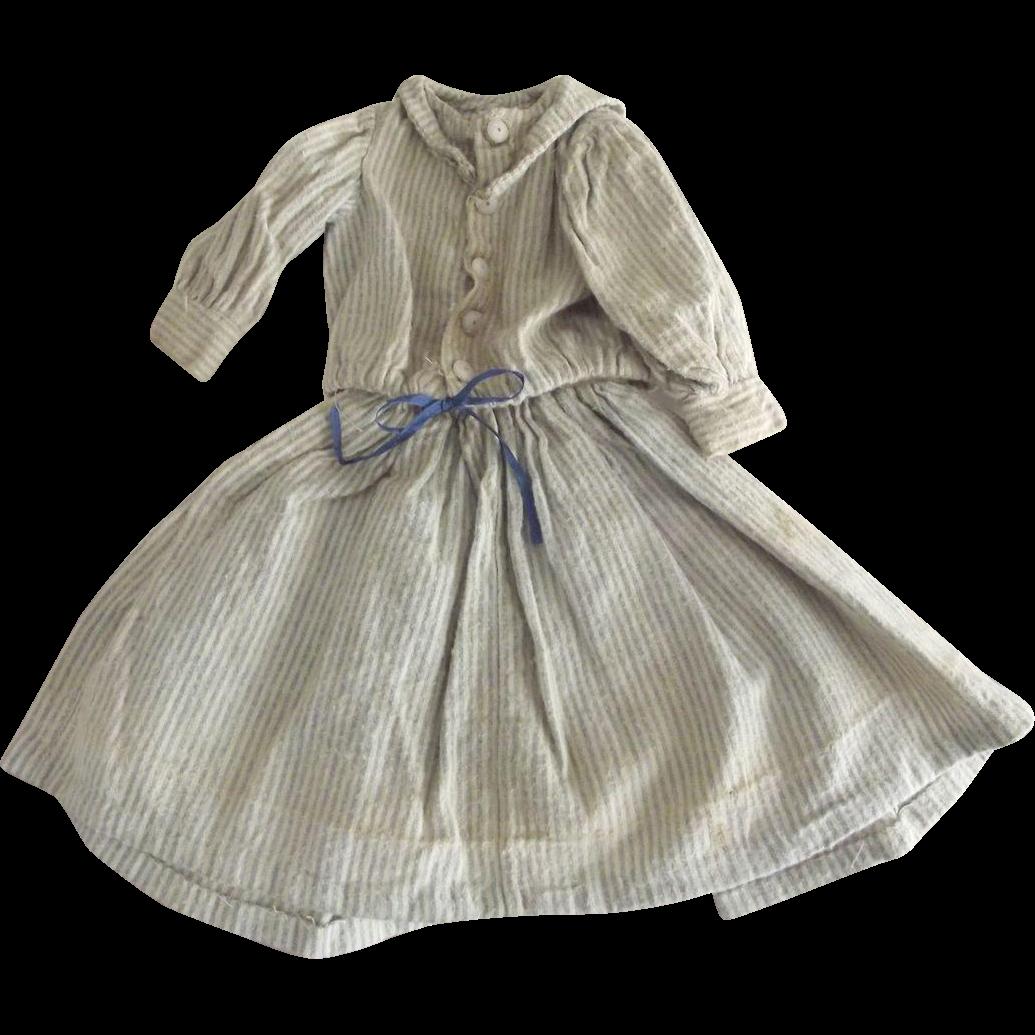 Doll Dress,Flannel Sailor Type