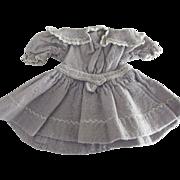 Doll Dress With Fancy Stitching