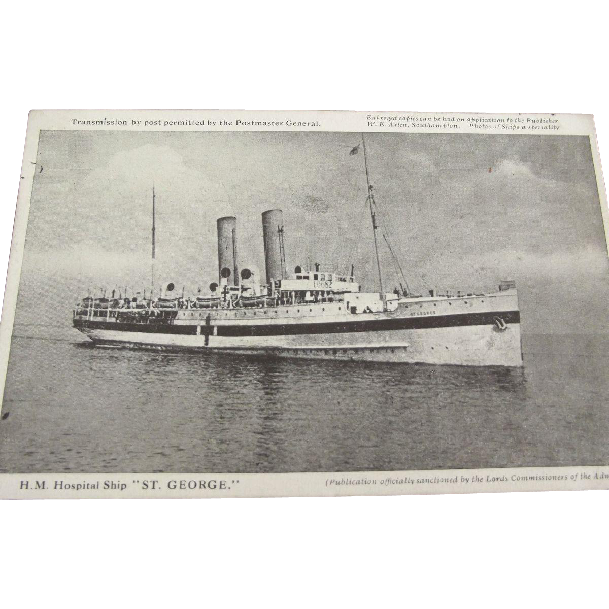 "H.M. Hospitol Ship ""St. George"""