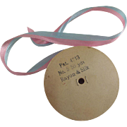 Rayon and Silk Ribbon Reel Pink and Blue