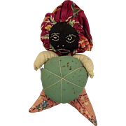 Ethnic Black Pincushion Doll