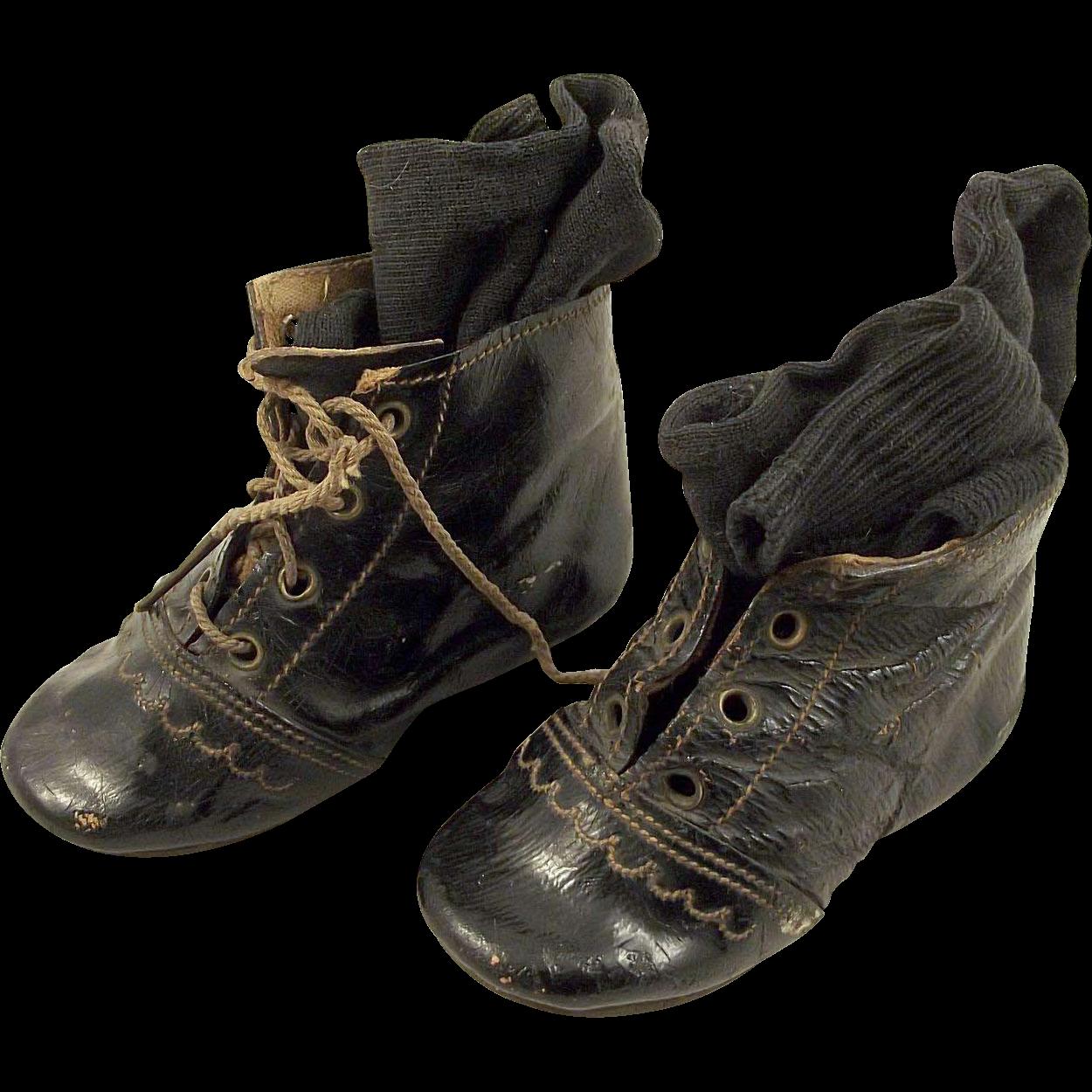Little Black Vintage Shoes