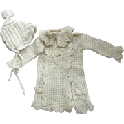 Sweater and Hat For Large Doll or baby