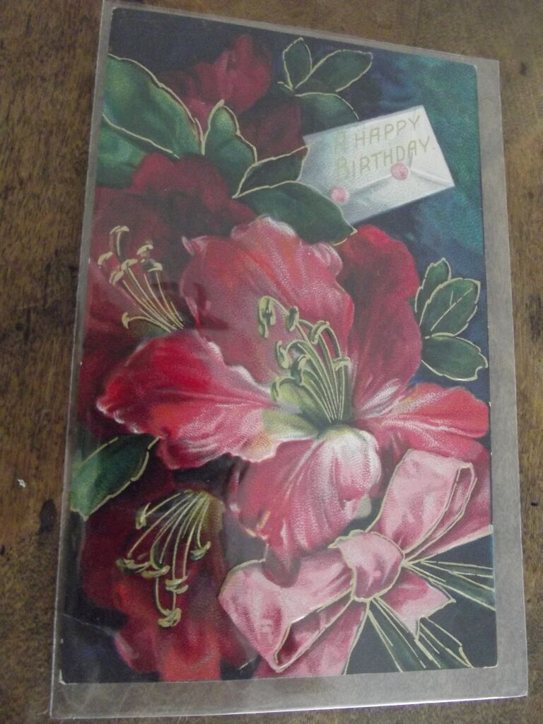 Victorian Birthday Card