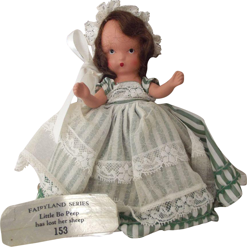 Bisque Storybook Doll Bo-Peep