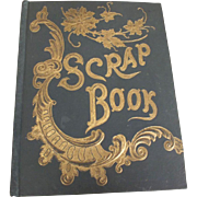 Victorian Scrap Album, Calling Cards,  Advertisments