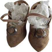 Doll Shoes With Pointed Toes