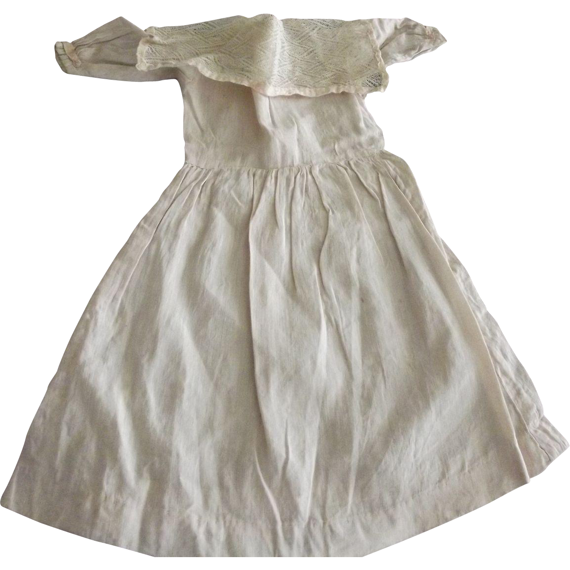 Early Pale Pink Doll Dress