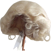 Blonde Mohair Wig