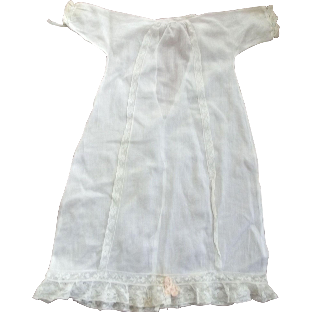 Fine Lawn Gown For A doll or Baby