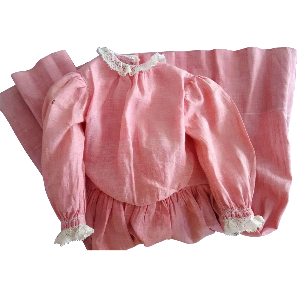 Early Pink Doll Dress