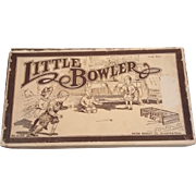 "Milton Bradley ""Little Bowler"" Game in the Original Box"