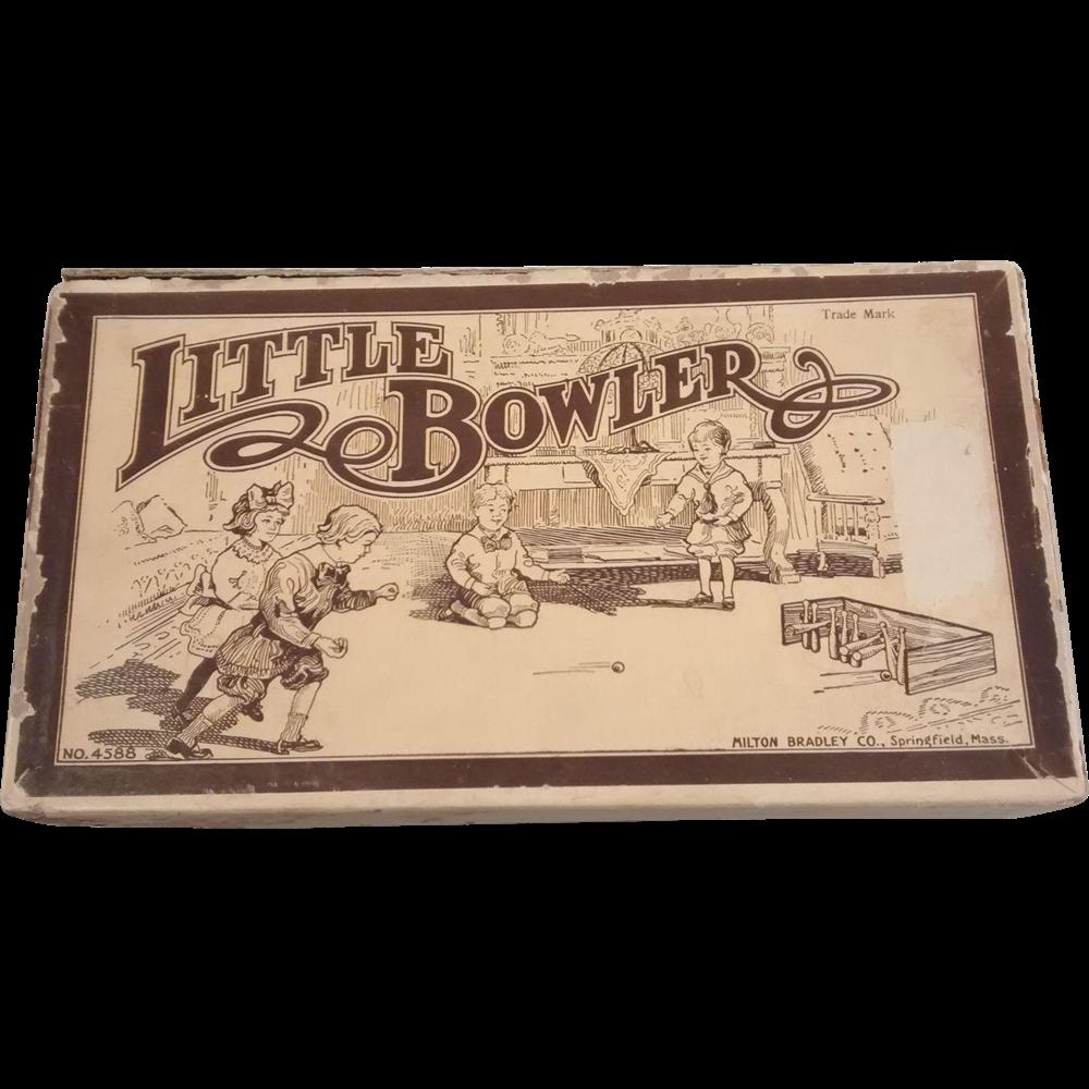 "Milton Bradley ""Little Bowler"" Game in the Original Box"