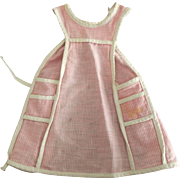 Calico Pink Doll Apron 50's Style