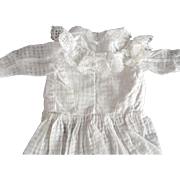Early Cotton Doll Dress