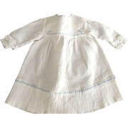 Doll Dress With Fancy Stitching Trim