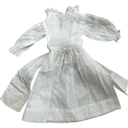 Lawn Dress With Lace and Huge Sash