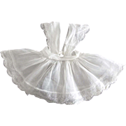 Organdy Pinafore For Doll