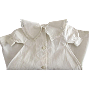 Early White Lace Trimmed Doll Coat