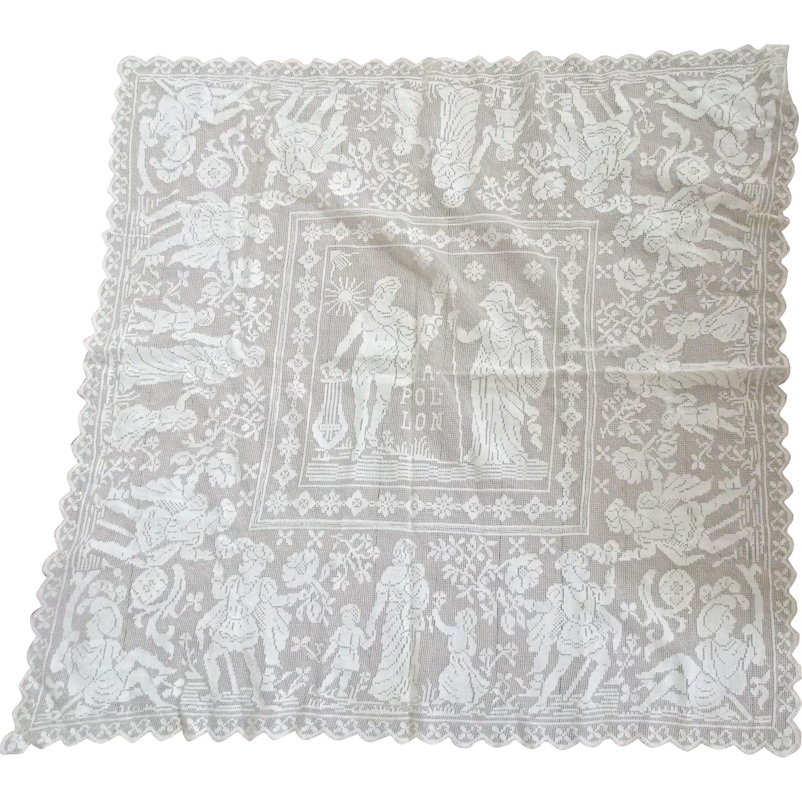 Small Lace Apollo Table Cloth